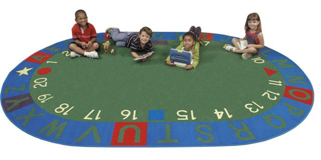 Fun activity carpet